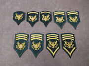 Us Army Female Specialist Rank Spec 4567and 8 1960s-70s