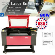 80w 700500mm Co2 Laser Cutter Rdworksv8 Engraver Cutting Engraving Machine