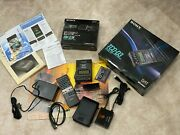 Sony Tcd-d3 Portable Dat Recorder Walkman + Sony Rm-d3k Remote Set Made In Japan