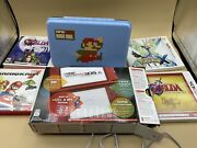 Nintendo 3ds Xl Launch Edition Handheld Red Gaming System Discontinued