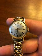 Vintage Working Elgin Automatic Mens Watch 10k Rgp Rolled Gold Plated