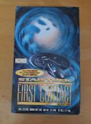 Star Trek First Contact Candy Bar Box Very Rare 1996 24 Wrappers 2 Sets