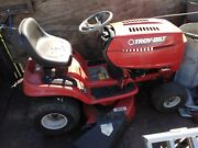 Troybilt 19 Hp Sit Down Riding Mower 42 Lawn Tractor With Deck Bad Motor