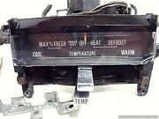 67 71 Ford Thunderbird Temperature Climate Control W/ Fan Switch Inc Oem Parts