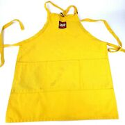 Lego Official Apron Store Employee Yellow Authentic Rare