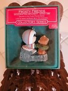 Hallmark Frosty Friends 1986 Christmas Ornament Seventh In The Series