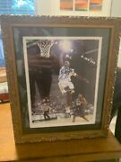 Lebron James Framed Autograph Picture With Authenticity