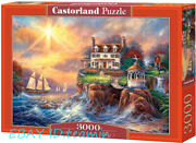 Castorland Jigsaw Harbour Villa 3000 Pieces Puzzles Rare New Sealed In Stock