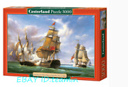 Castorland Jigsaw Sea Warfare 3000 Pieces Puzzles Rare New Sealed In Stock Toys