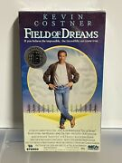 Field Of Dreams 1989 Factory Sealed Vhs Mca Home Video W/ Rare Mca Logo Stamp