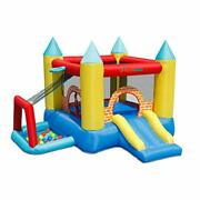 Bounceland Play Day 4 In 1 Bounce House With Ball Pit 10 Ft L X 9 Ft W X 7 Ft...
