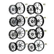 26 Front And 18and039and039 Rear Cnc Wheel Rim Hub Fit For Harley Road Glide 08-21 Non Abs