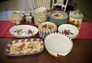 Lenox Winter Greetings Everyday China 46 Pieces