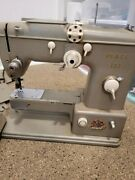 Germany Pfaff 332 Automatic Dial-a-stitch Sewing Machine With Accessories