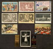 Russian Restaurants In America 9 Postcards And 2 Match Covers [ah462]