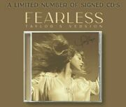✅🔥taylor Swift Signed Fearless Taylorandrsquos Version Cd Autographed