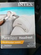 Intex Purespa Hot Tub Inflatable Lounge Headrest Pillow Spa Accessory Used