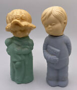 Avon Little Dream Girl And Boy Bottles Vintage Collectibles Perfume Cologne Set 2