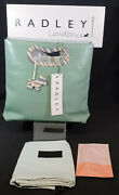 Radley Rare Special Edition 2005 Green Bag 1 Of 20 Bnwt For Kingand039s Rd Store