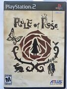 Rule Of Rose Sony Playstation 2 2006 Complete