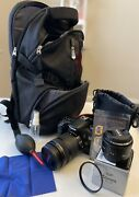 Canon Eos 70d With 18-135mm, 50mm F/1.8 And Kit