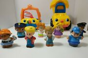 Fisher Price Little People Lot Of 10 Includes Boat And Dump Truck