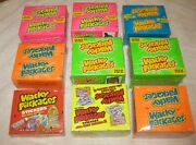 Ans Wacky Packages Unopened Sealed Box Set Series 1-6