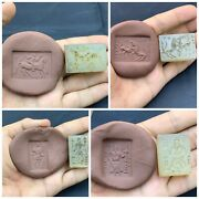 Antique Roman Near Eastern Old Agate Stone Stamps Sell By Lot 4 Peace Fantas