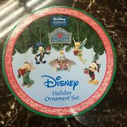 Disney Traditions Jim Shore Christmas Ornaments Dumbo/tinker Bell/mickey/dopey