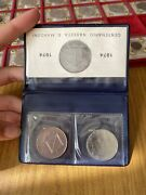 Pack Republic Italian Diptych 100 Livres Marconi 1974+ Coin Proof
