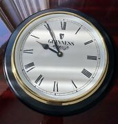 Guinness Beer Hanging Wall Clock   Working Battery Operated 9 Face -