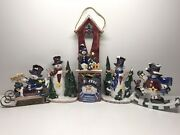 Christmas Decorations Pearlized Table Decorations 6 Pieces