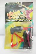 Batman Forever Two-face W Turbo Cannon And Coin Kenner 1995 Ty