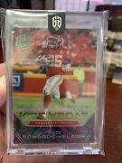 2020 Panini Spectra Rise Above Psychedelic 4/4 Chase Young Ri-22 Rookie Gem Card