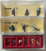 Lot Of Preiser N Scale Figures 1/2209010, 9096 And 9030