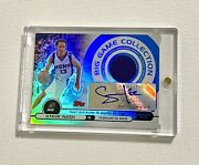 2005 Topps Steve Nash Big Game Autograph Jersey Refractor Sp Auto /199 Signed