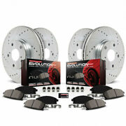 Power Stop Brake Kit For Ford Fusion 2013-2019 Front And Rear Z23 Evolution Sport