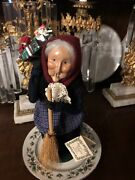 Byers Choice The Carolers Old Befana Italian Christmas Witch With Hang Tag 2000