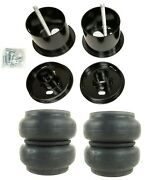 Front Air Ride Suspension Kit Slam Re7 Air Bags Mounting Cups For 61-62 Cadillac