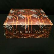 Flesh And Blood Crucible Of War Booster Box 1st Edition Factory Sealed
