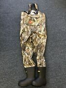 New Cabelaand039s Women She Breathable Dry Plus Chest Wader True Timber Drt Camo Sz 9