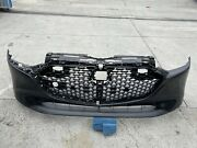 2019 2020 2021 Mazda 3 Hatchback Front Bumper Cover W/grill Oem Used