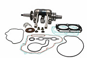 Wiseco Complete Bottom End Rebuild Kit Crank Rods Bearings Gaskets Wpc223a