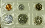 1963 Us Mint Set With 90 Silver Kenndy Quarter And Dime Original Cellophane