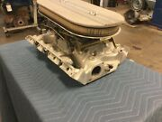 Ford 390/406/427/428 Fe Fomoco 3x2 Intake Manifold Carbs Vintage Early 1960and039s