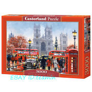 Castorland Venice Church 3000 Adult Decompression Puzzles Rare New Sealed Toys