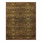 Feizy Amzad 8and0396 X 11and0396 Hand Knotted Wool Area Rug In Twany Brown/rust