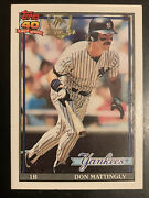 Huge Don Mattingly Card And Memorabilia Collection 928 Different Cards + Much More