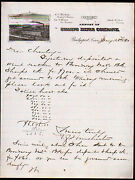 1880 Bridgeport Ct - Armory Of Sharps Rifle Co - Guns A S Winchester Letter Head