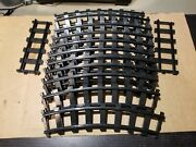 Lot Of Lionel Plastic Track - 2 Straight 11 Curved - G Scale